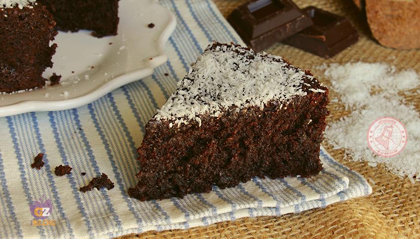 Torta cioccolato e cocco ricetta torta facile for Vieni da me di chi era la casa misteriosa