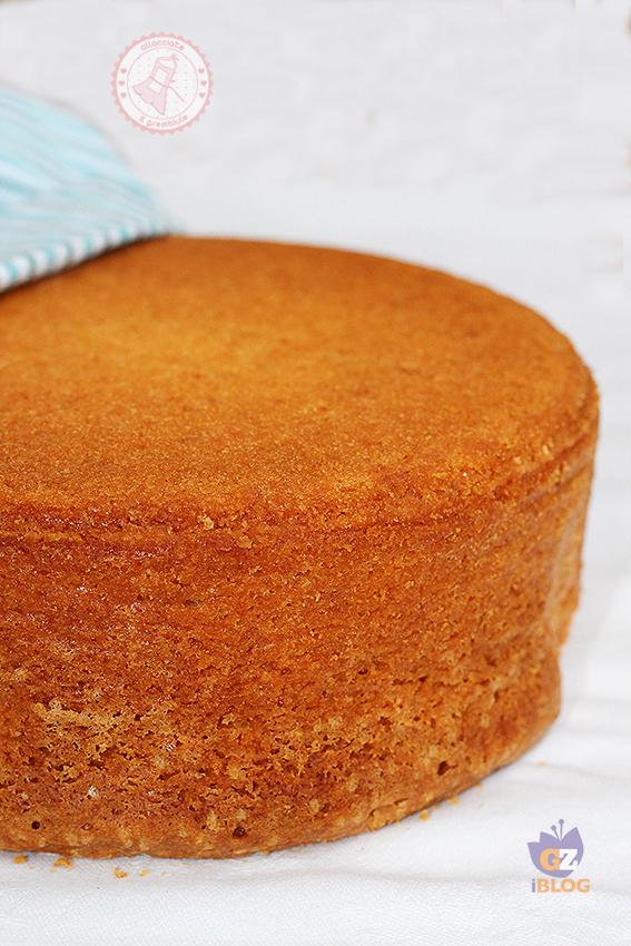 Pan di spagna perfetto ricetta facile infallibile - Glassa a specchio su pan di spagna ...