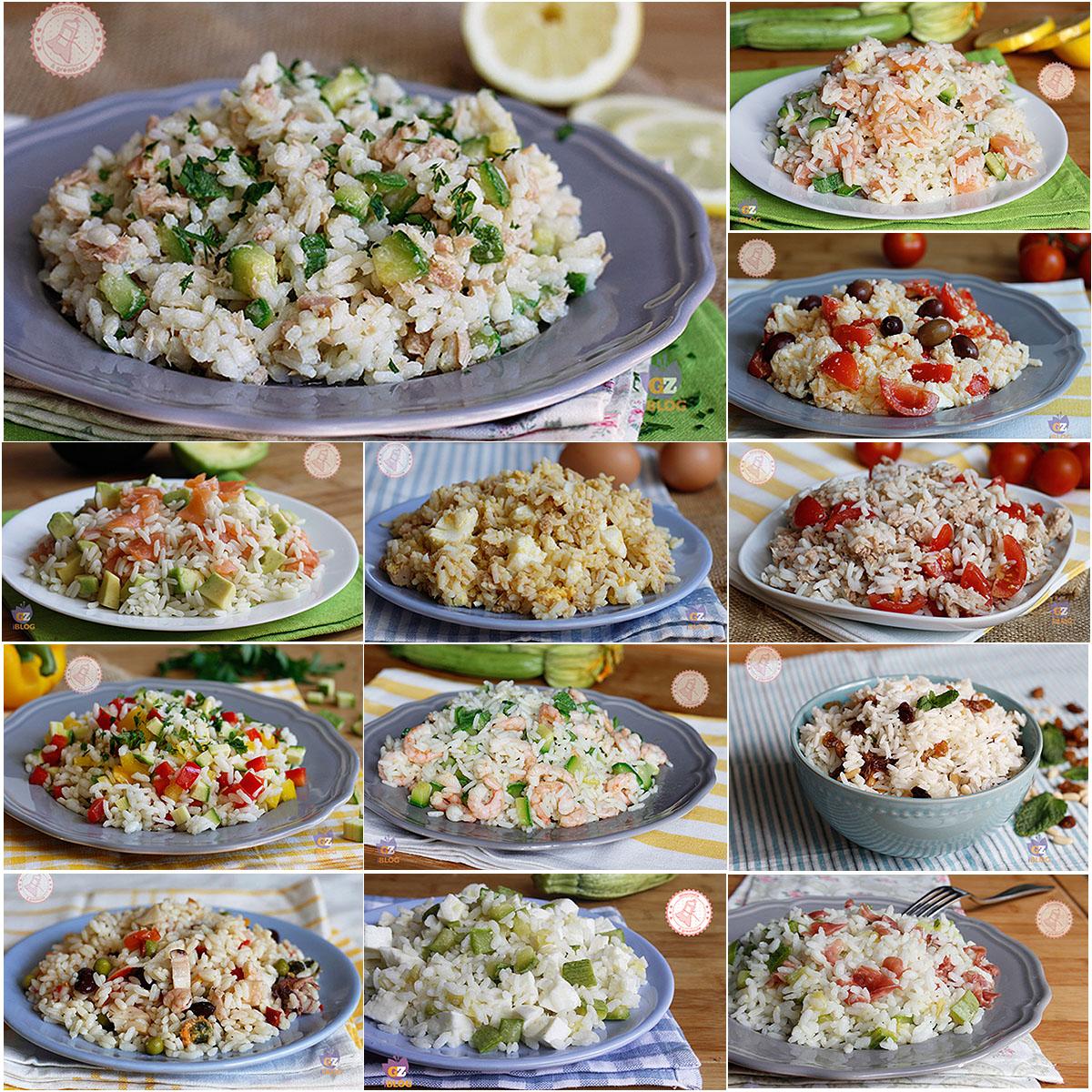 Insalate di riso tante ricette gustose di riso freddo for Ricette di riso