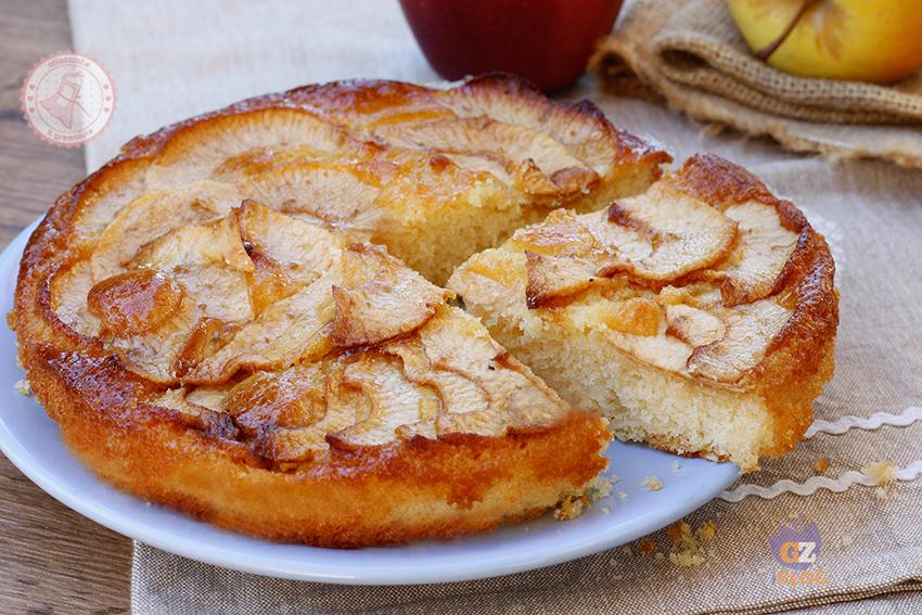 Ricetta torta con mele senza lievito