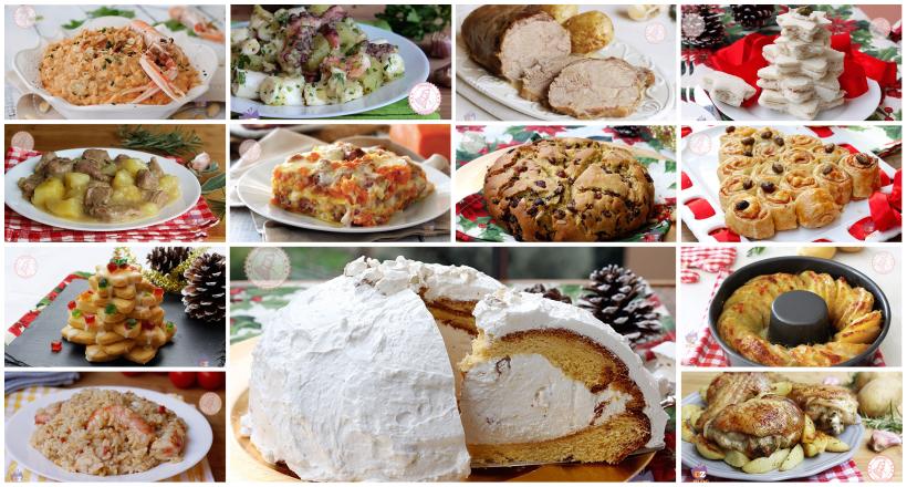 Menu Di Natale Ricette Giallo Zafferano.Menu Di Natale Facile Ricette Dall Antipasto Al Dolce
