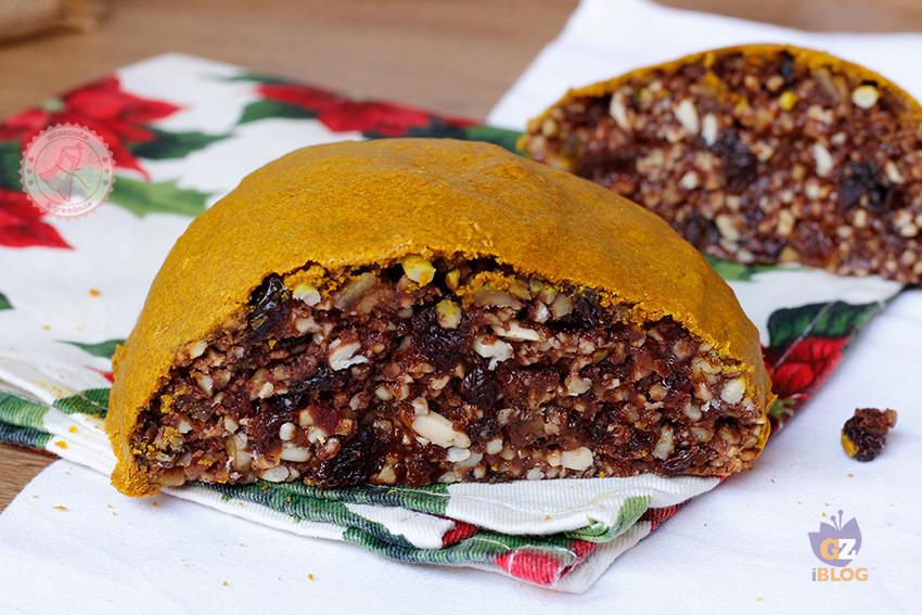 Pangiallo romano ricetta tipica laziale natalizia for Dolce tipico romano