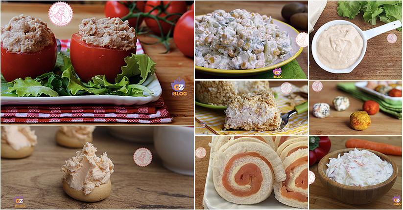 Antipasti freddi ricette per aperitivo o buffet veloci e for Antipasti freddi
