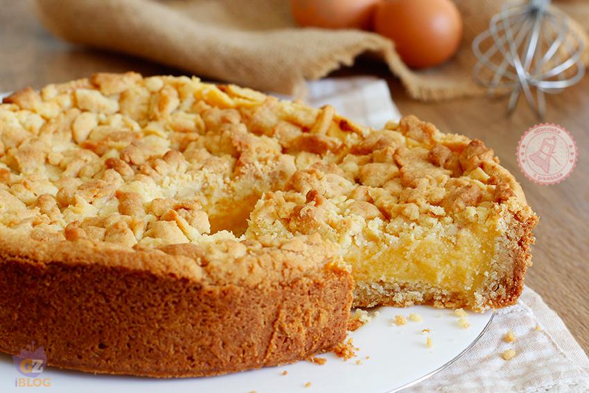 Crostata di sbriciolata ricetta facile e veloce con crema for Tiramisu particolari