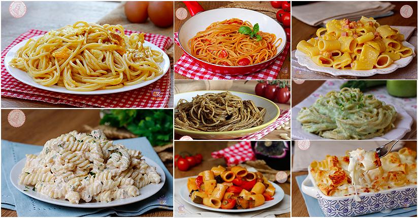 Primi piatti veloci con la pasta le migliori ricette for Ricette veloci primi piatti