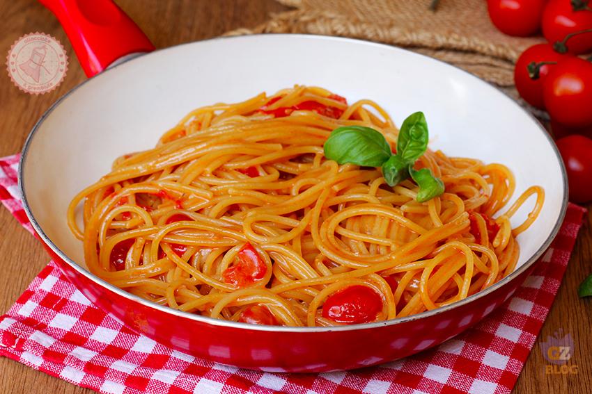 Pasta alla scarpariello ricetta primo piatto veloce for Ricette veloci pasta