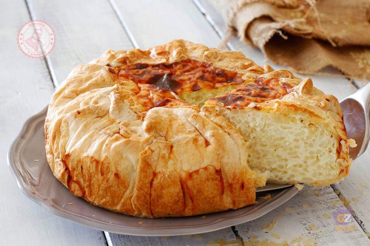 TORTA DI RISO SALATA GENOVESE