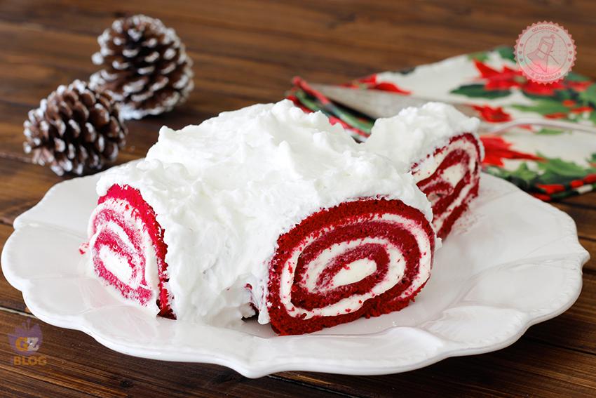 Tronchetto Di Natale Menu Di Benedetta.Tronchetto Di Natale Red Velvet