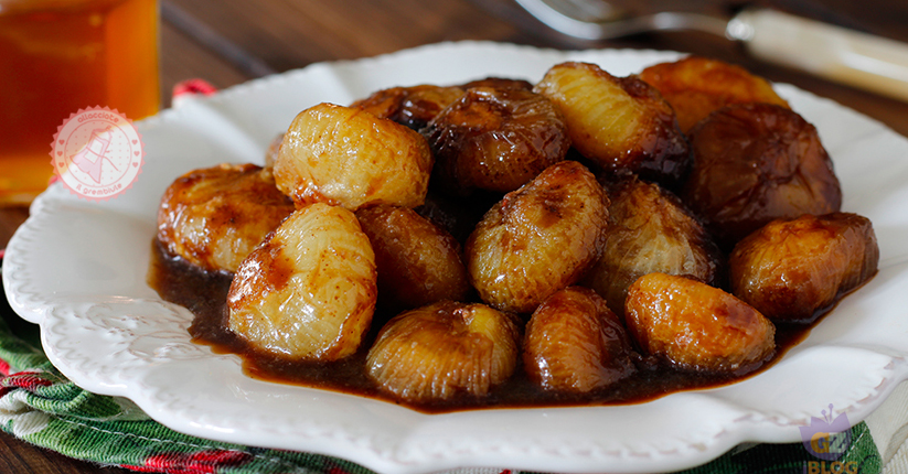 Cipolline in agrodolce ricetta contorno facile for Ricette culinarie