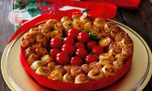 Antipasti Di Natale Coreografici.Antipasti Con La Pasta Sfoglia Per Natale Ricette Facilissime