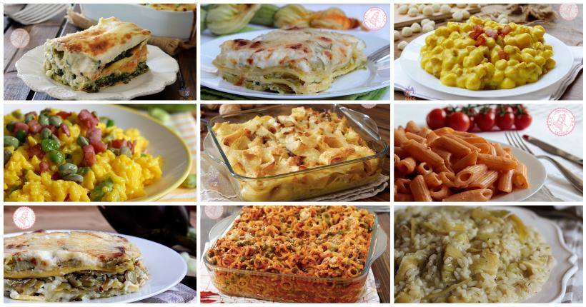 Primi piatti pasquali ricette facili veloci e congelabili for Ricette primi piatti