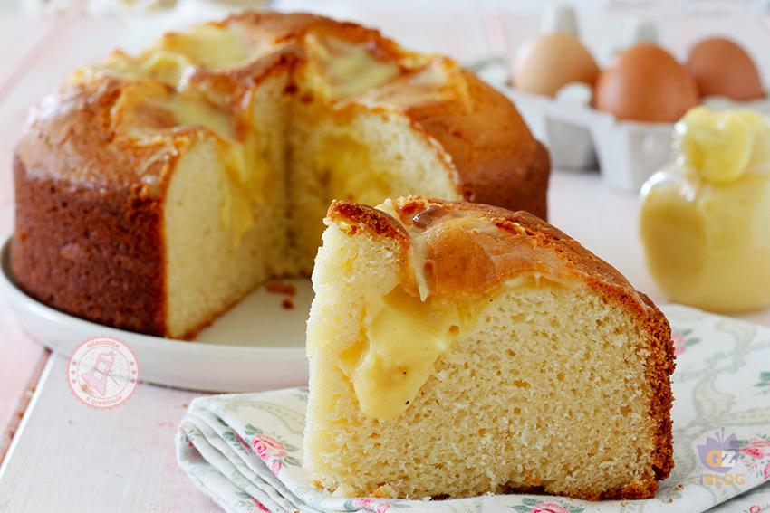 Torta Nua Ricetta Torta Facile Con Crema Pasticcera Che Non Affonda