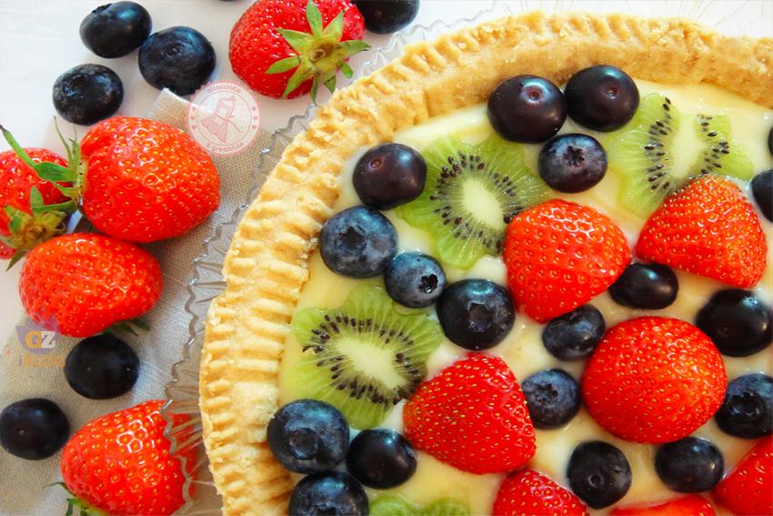 Crostata Di Frutta Ricetta Con Frolla Perfetta Che Non Si Rompe