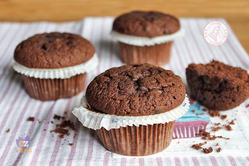 Ricetta Muffin Semplice.Muffin Al Cioccolato Senza Burro Ricetta Facile E Veloce