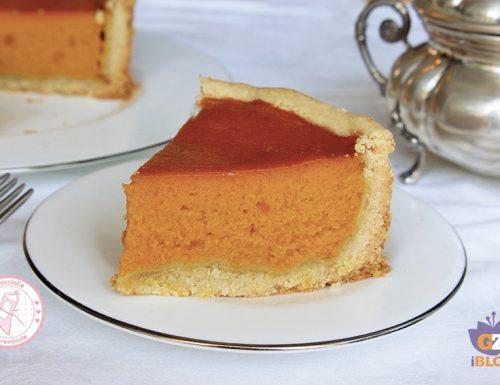 PUMPKIN PIE torta di zucca Americana