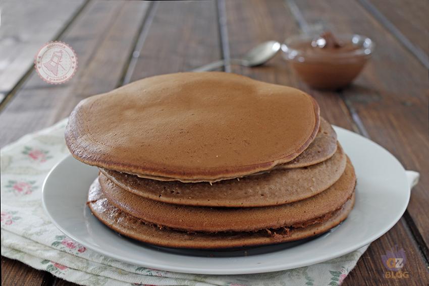 Ricetta Pancake Normali.Pancake Alla Nutella Ricetta Veloce Senza Burro Senza Sbattitori
