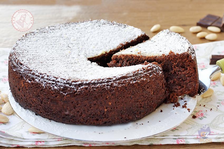 Torta Caprese Al Cioccolato Senza Lievito E Senza Farina