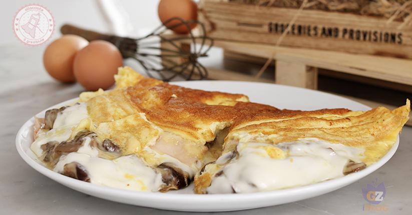 Ricetta Omelette Prosciutto E Funghi.Omelette Ai Funghi Cremosissima Ricetta Facile Pronta In 15 Minuti