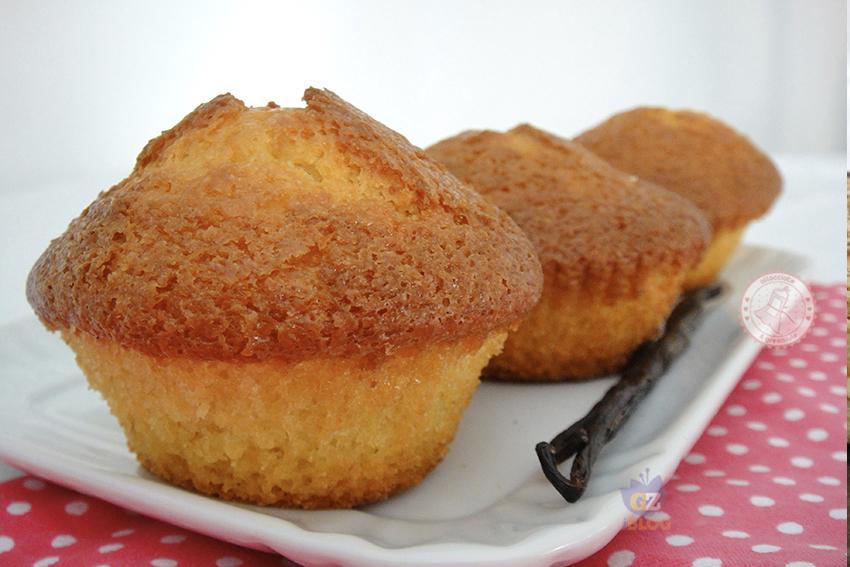 Ricetta Muffin X 6.Muffin Alla Vaniglia Semplicissimi Ricetta Facile E Veloce