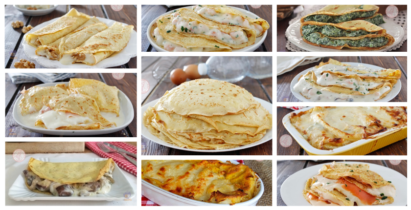 RICETTE CREPES SALATE