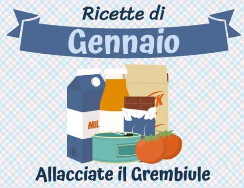 GENNAIO RICETTE DI STAGIONE