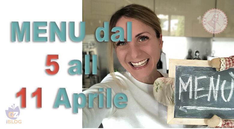 COSA CUCINARE DAL 5 ALL'11 APRILE