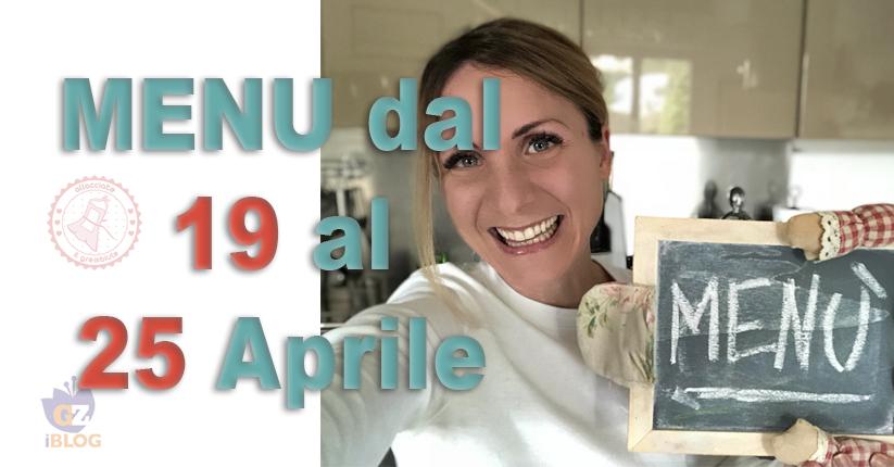 COSA CUCINARE DAL 19 AL 25 APRILE