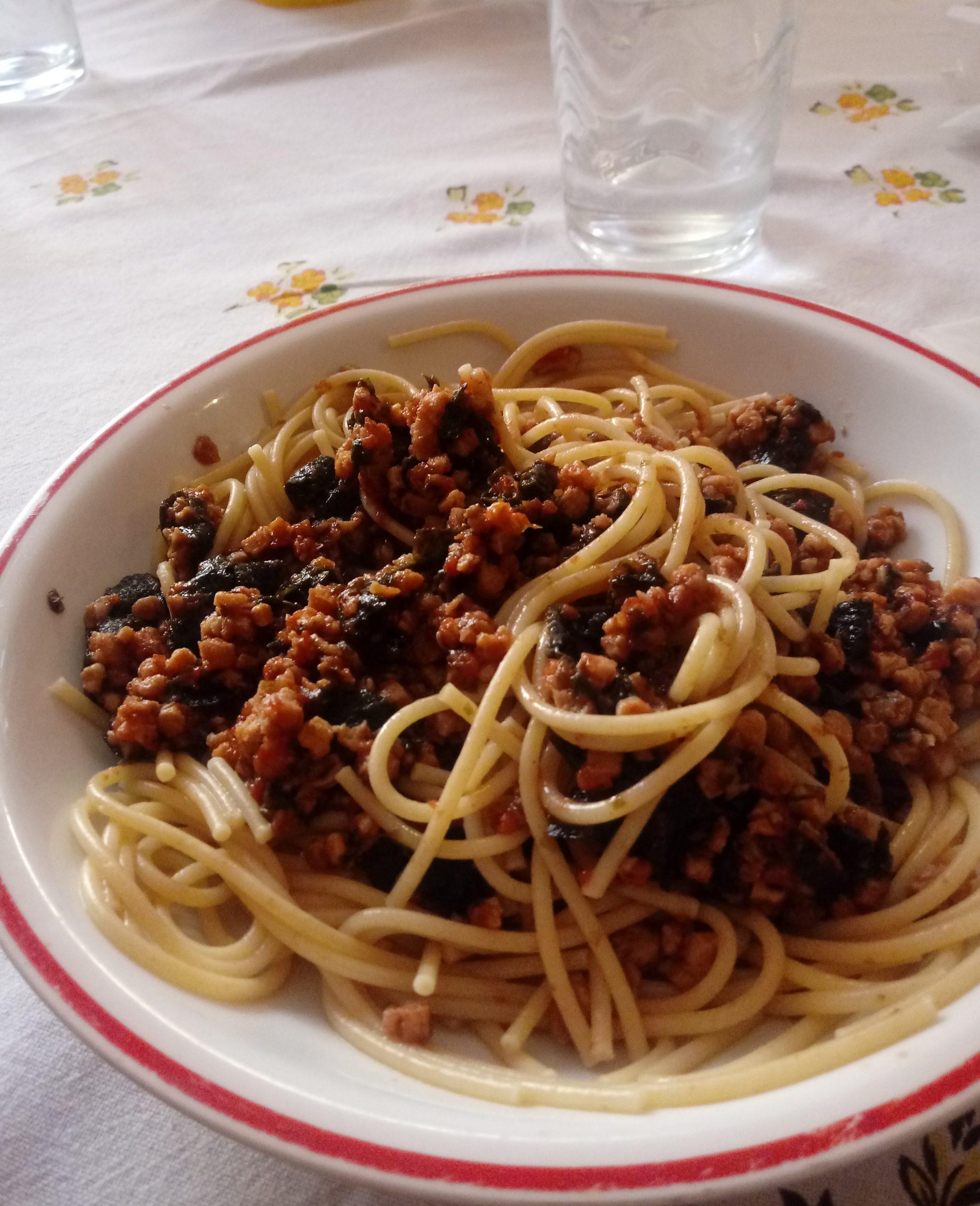 Spaghetti al profumo di mare (Vegan)
