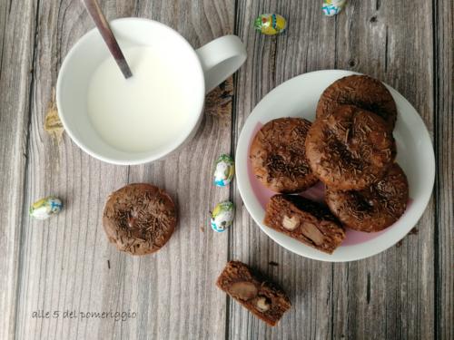 Muffin senza uova al cioccolato