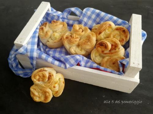 Muffin di rose salati