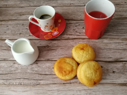 Muffin allo yogurt greco