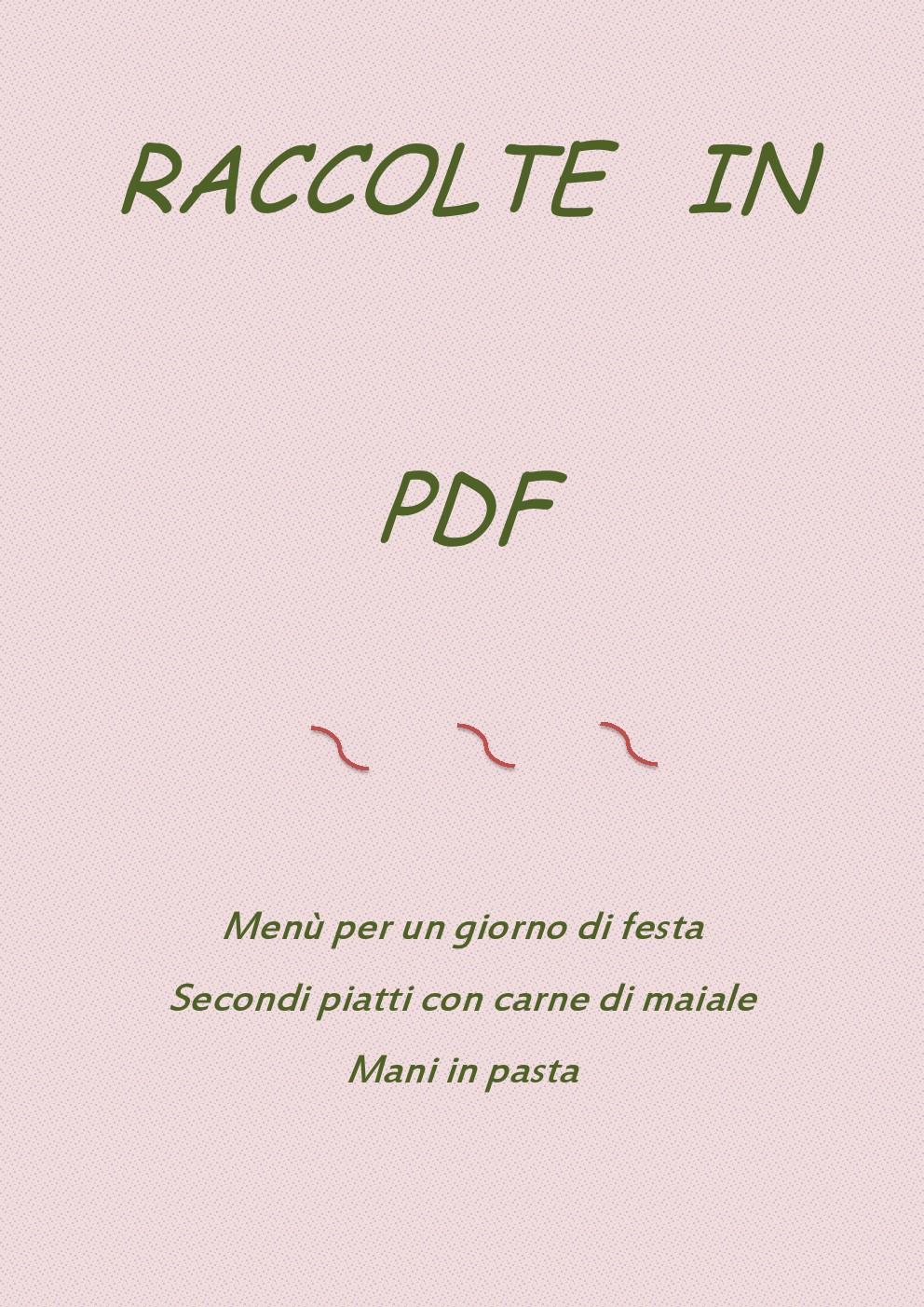 RACCOLTE IN PDF