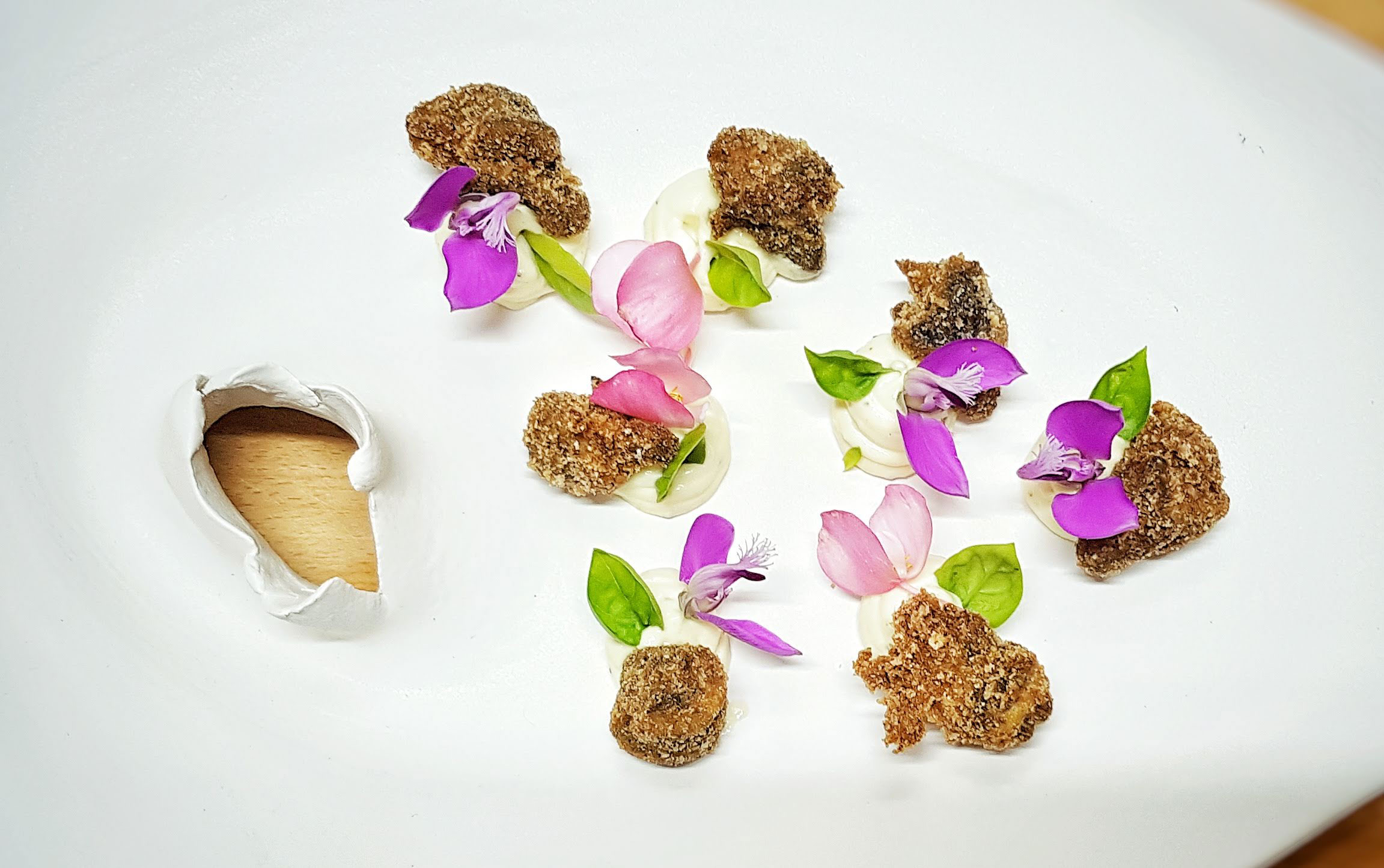 Lumache croccanti gourmet