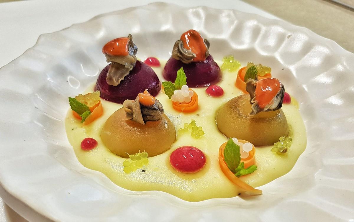 insalata di lumache alla palermitana senza glutine piatto gourmet