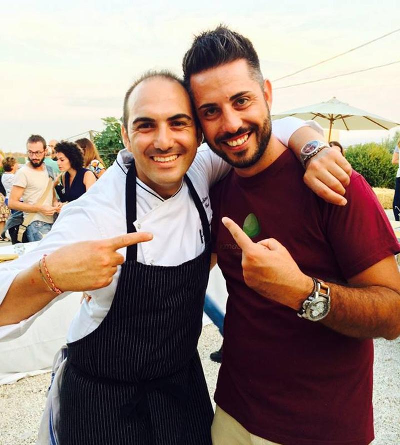 Chef Gioacchino Gaglio e Altramentecuoco