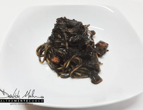 Nero di seppia – Pasta senza glutine al nero di seppia