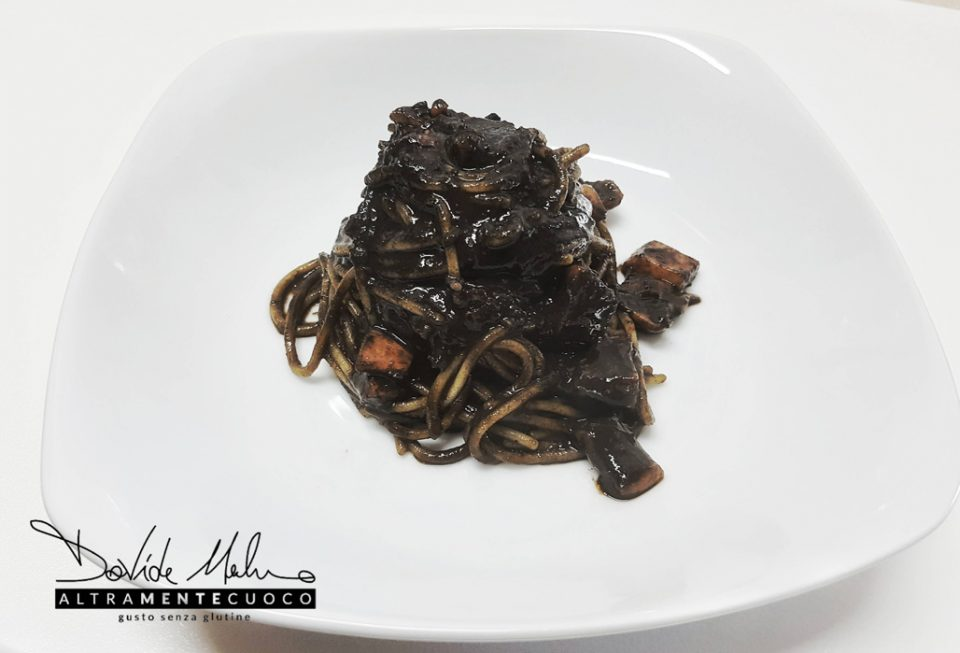 nero di seppia pasta senza glutine al nero di seppia