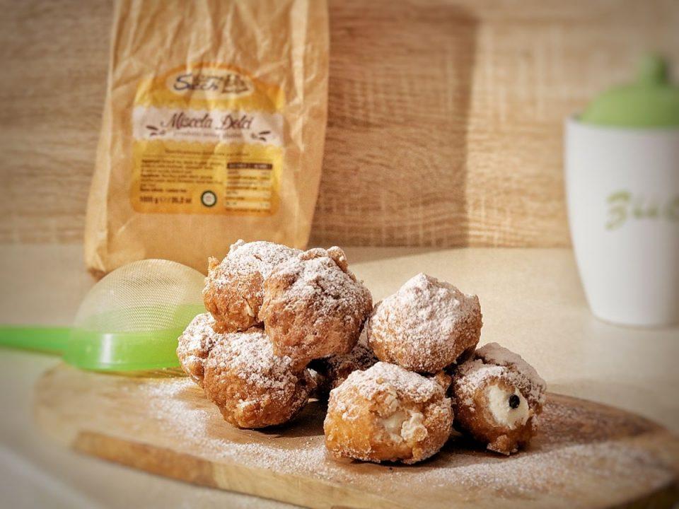 Frittelle senza glutine o sfinci alla ricotta (18)
