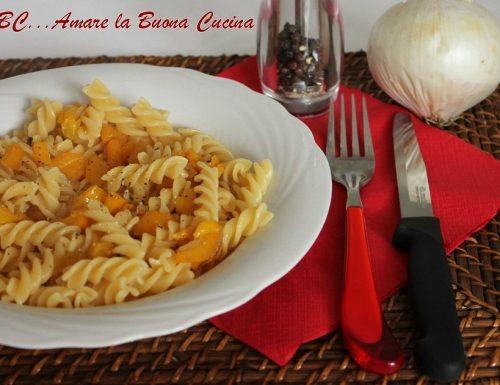Pasta con Peperoni Gialli