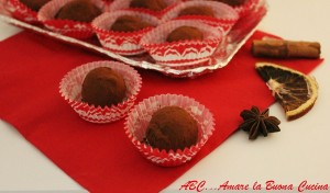 tartufi cioccolato e rum
