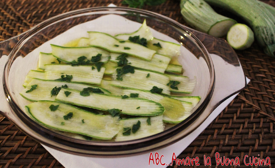 zucchine marinate 1