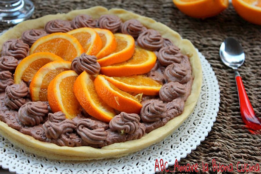 crostata con mousse al cioccolato e arance (2)