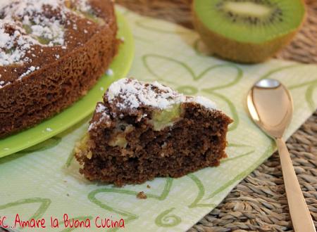 Torta al Cacao e Kiwi