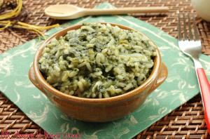 risotto con spinaci e gorgonzola (2)