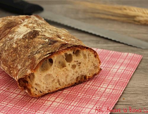 Pane a lunga lievitazione con pasta madre