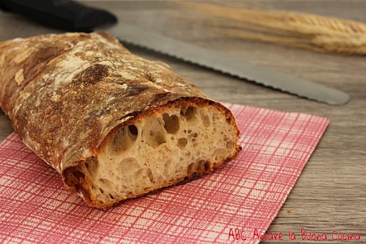 pane a lunga lievitazione con pasta madre 1