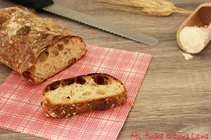 pane a lunga lievitazione con pasta madre 2