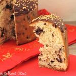 panettone con gocce di cioccolato e nutella 2