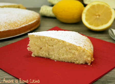 Torta al limone con solo albumi - ricetta bimby