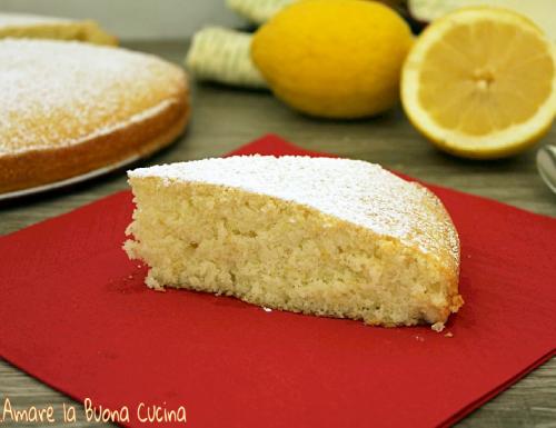 Torta al limone con solo albumi – ricetta bimby